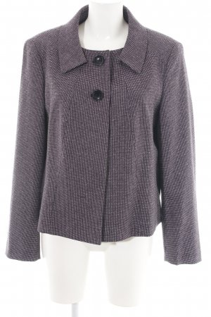 Apriori Short Blazer lilac weave pattern casual look