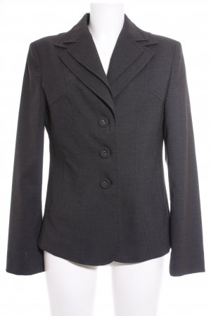 Apriori Short Blazer anthracite Fabric buttons