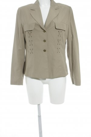 Apriori Blazer corto beige Bottoni in metallo