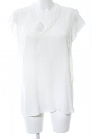 Apriori Short Sleeved Blouse white casual look