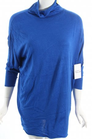 Apriori Short Sleeve Sweater blue casual look