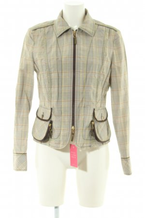 Apriori Short Jacket check pattern casual look