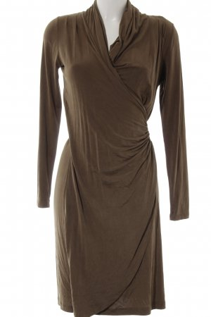 Apriori Longsleeve Dress khaki-black elegant