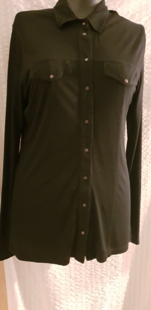 Apriori Long Shirt black cotton