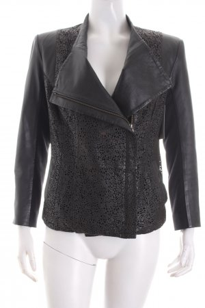 Apriori Leather Jacket black biker look
