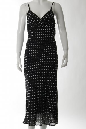 Apriori Midi Dress white-black spot pattern Paris-Look