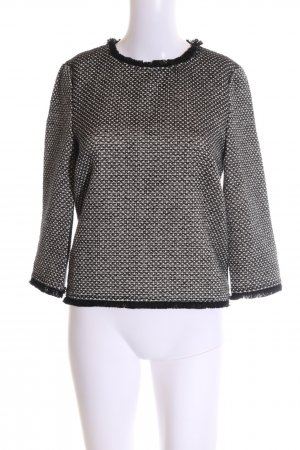 Apriori Crewneck Sweater white-black casual look