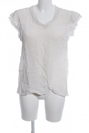 Apriori Silk Blouse light grey casual look