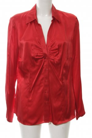 Apriori Silk Blouse red casual look