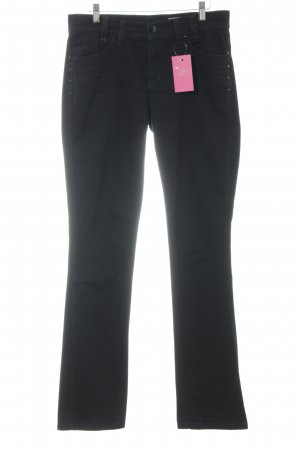 Apriori Straight-Leg Jeans schwarz Casual-Look