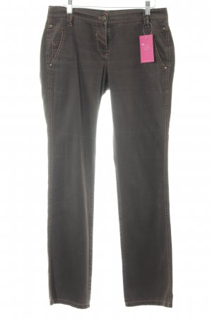 Apriori Straight Leg Jeans black brown casual look
