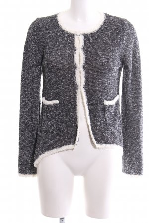 Apriori Cardigan silver-colored-natural white flecked casual look