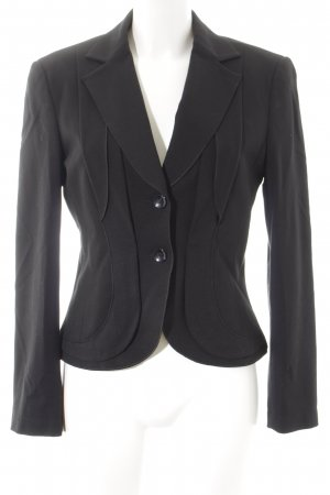 Apriori Sweatblazer schwarz Business-Look
