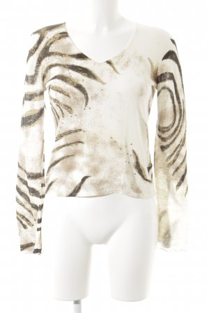 Apriori T-Shirt cream leopard pattern street-fashion look