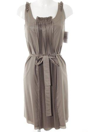 Apriori Vestido tipo overol marrón grisáceo look casual