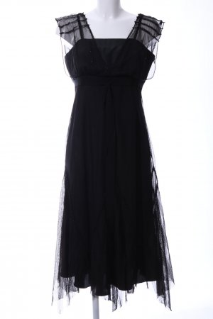 Apriori Pinafore dress black elegant