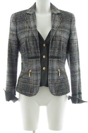 Apriori Tweed blazer veelkleurig zakelijke stijl