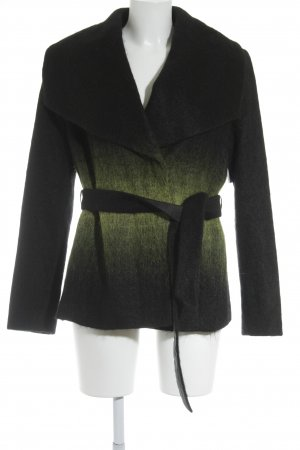 Apriori Between-Seasons Jacket black-meadow green color gradient