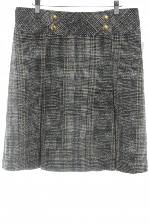 Apriori Wool Skirt check pattern casual look
