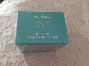 Aqua INTENSE - Supreme Hyaluron Creme von M. Asam gebraucht kaufen  Wird an jeden Ort in Deutschland