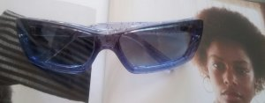 Aqua Sonnenbrille transparent