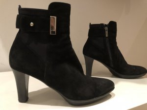 Aqua Winter Booties black
