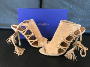 Aquazzura Sandales à talon haut rose chair