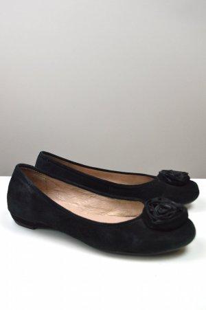 Ara Ballerinas mit Rose schwarz Größe 37
