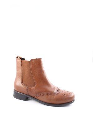 ara Chelsea Boots cognac schlichter Stil