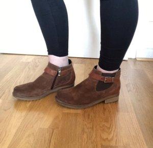 Ara Chelsea Boots Lammfell Luftpolstersohle