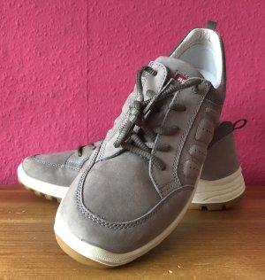 ARA hellgraue Sneaker aus Velours 43