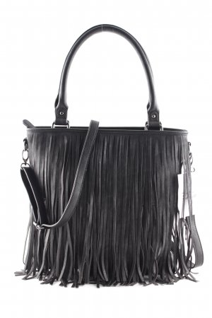 ara Bolso barrel negro look casual