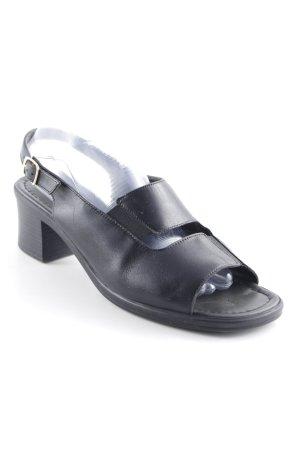 ara Sandales confort noir style décontracté