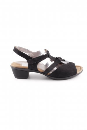 ara Komfort-Sandalen schwarz Casual-Look