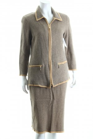 ara Ladies' Suit beige-grey vintage look