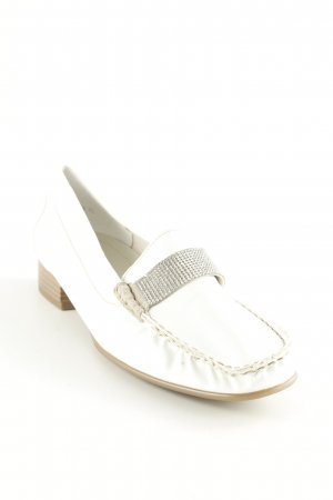 ara Patent Leather Ballerinas white casual look