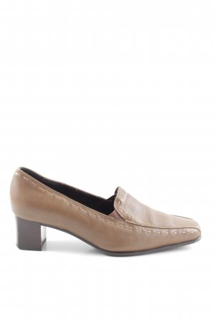 ara Chaussures Mary Jane brun style d'affaires