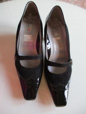 ara Escarpins Mary Jane noir cuir