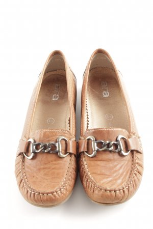 ara Moccasins brown casual look