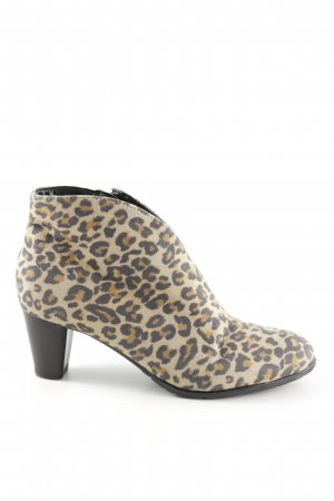 ara Zipper Booties allover print extravagant style