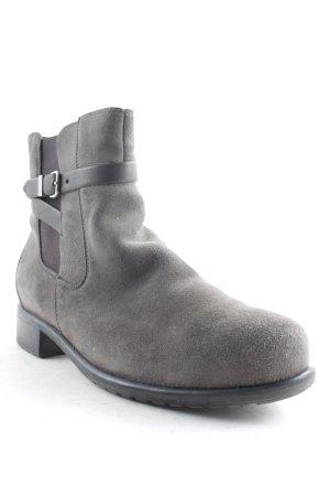 ara Zipper Booties dark grey casual look
