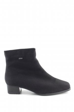 ara Zipper Booties black business style