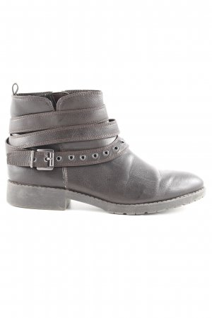 ara Reißverschluss-Stiefeletten schwarzbraun Casual-Look
