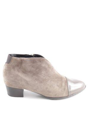ara Slip-on Booties brown-light grey casual look