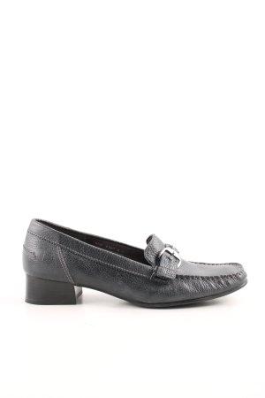 ara Slip-on Shoes black animal pattern casual look