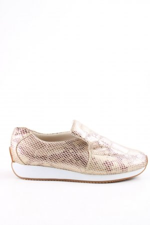 ara Slip-on Shoes cream-lilac allover print casual look