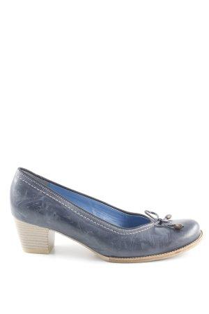 ara Slip-on bleu foncé style classique