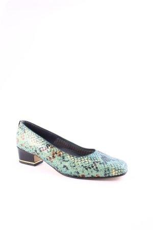 ara Zapatos sin cordones multicolor estampado animal