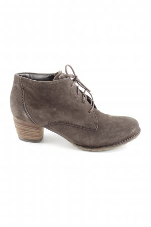 ara Lace-up Booties brown casual look