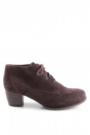 ara Lace-up Booties brown business style